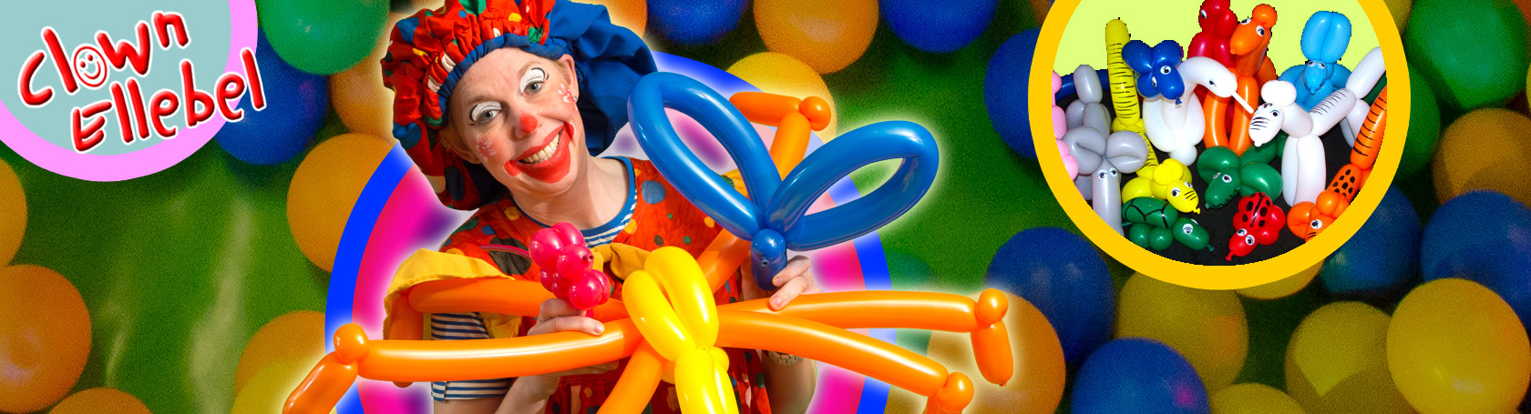 kinderfeestje ballonfiguurtjes maken