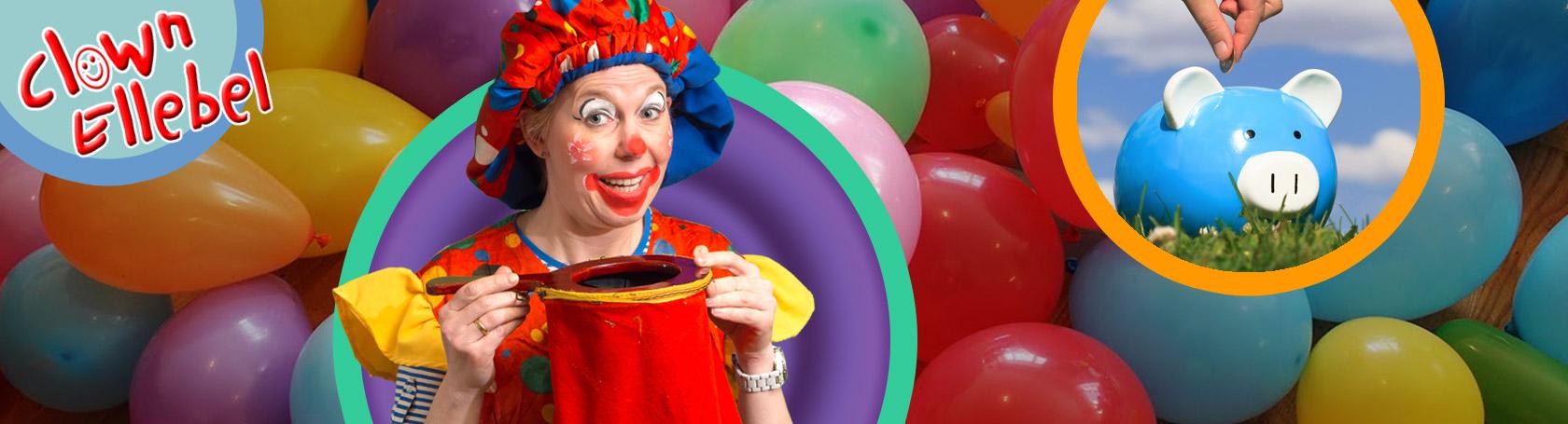 prijs clown ellebel huren